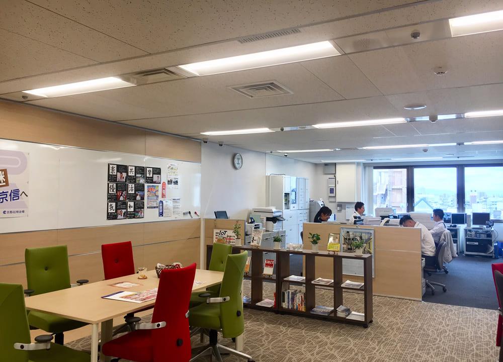 京都信用金庫がアゴーラにオープン
