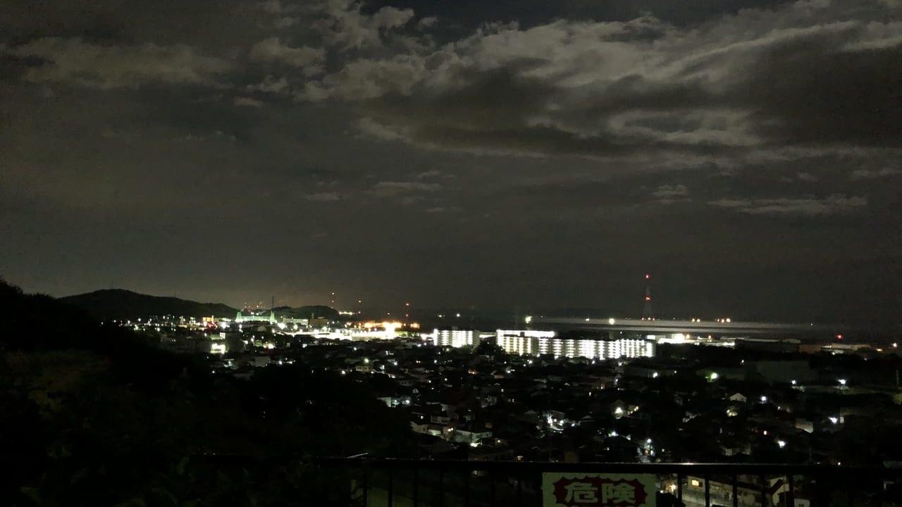 2019年白浜西山公園夜景