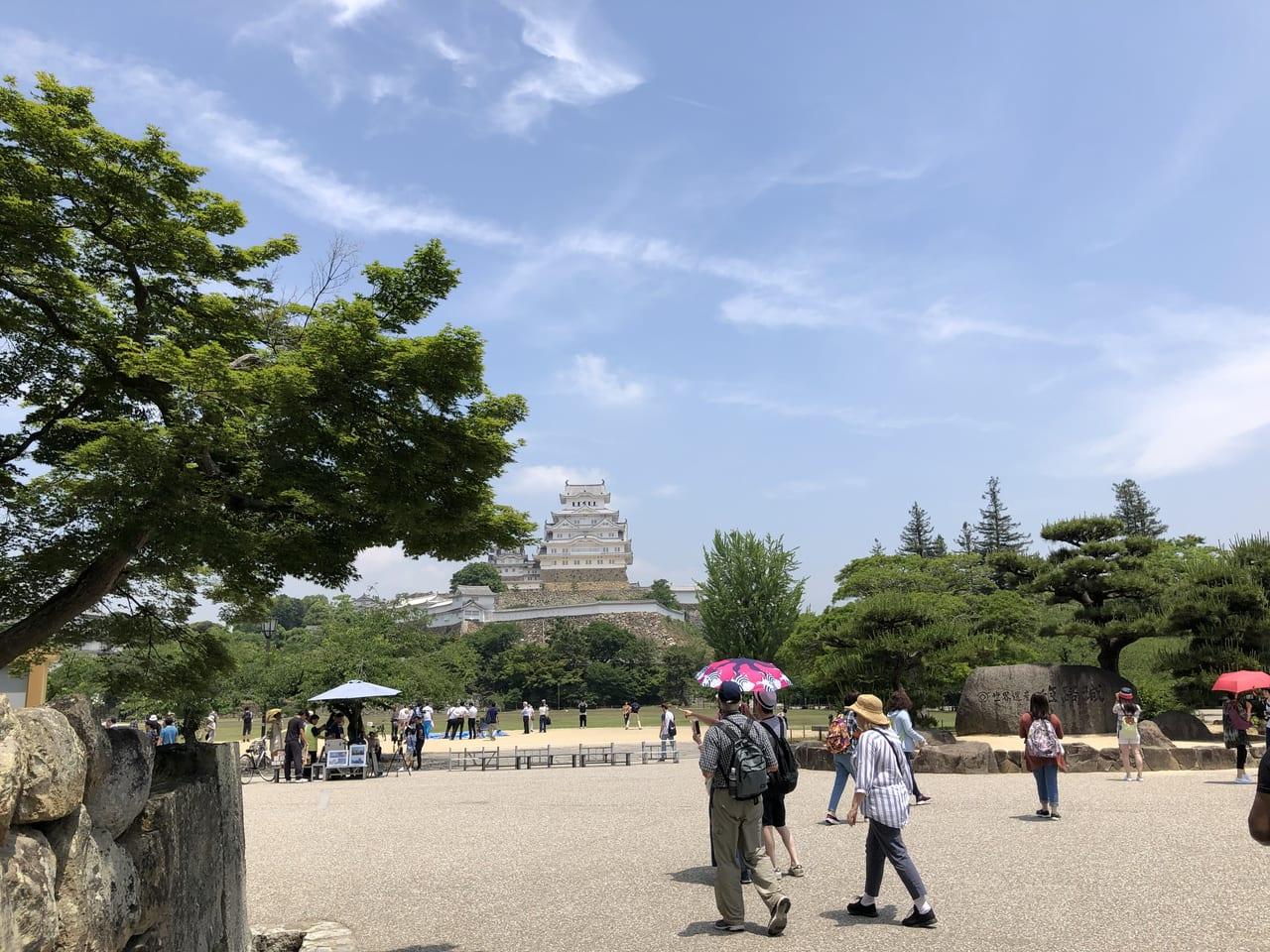 2019年姫路城内観