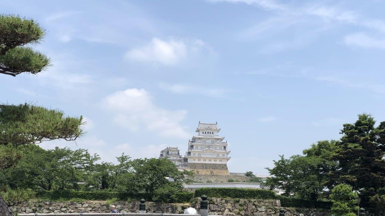 2019年姫路城正面