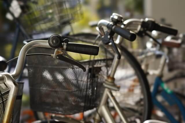 自転車前かごひったくりカバー取付