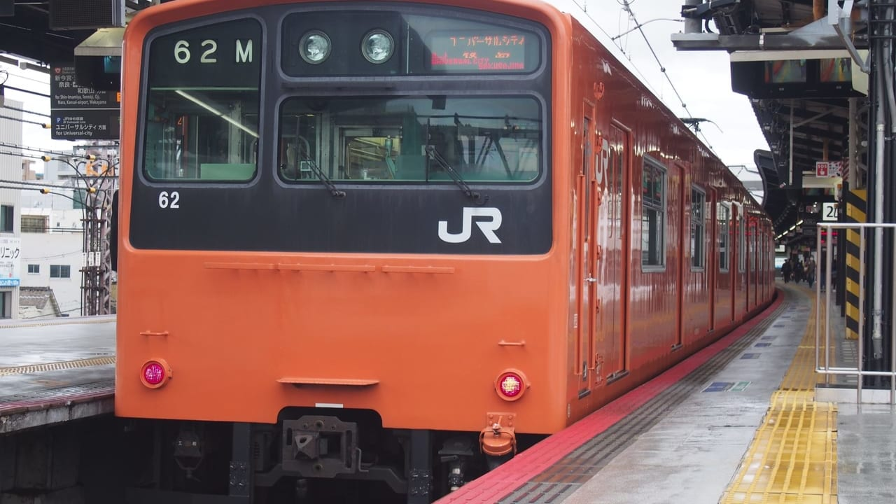 大阪環状線201系ラストラン