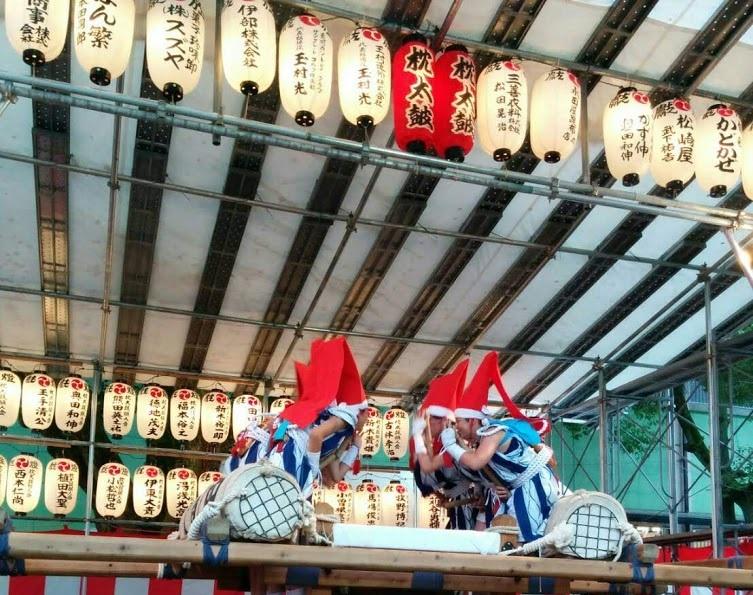 生国魂祭の枕太鼓