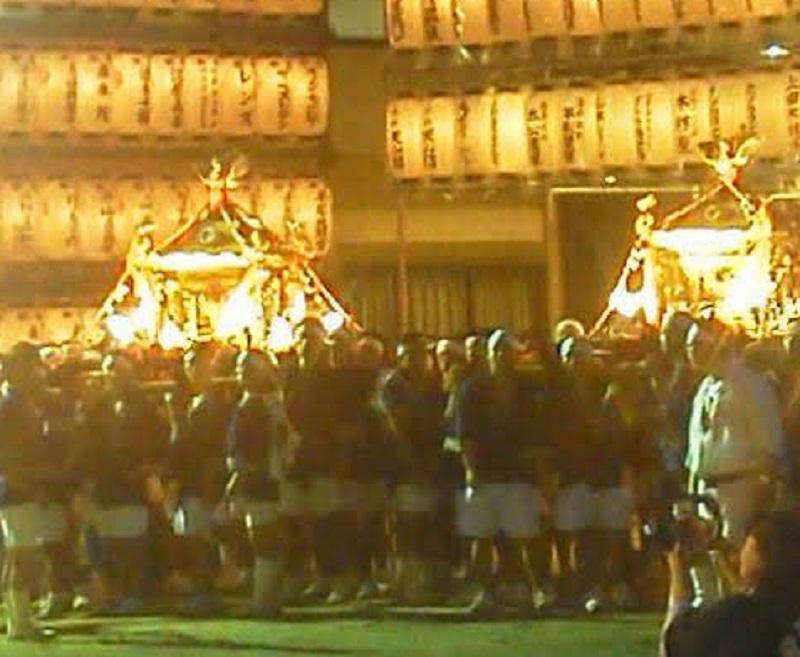 生国魂祭の御神輿